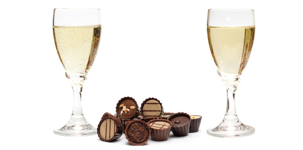 The acidity of dessert wines mean they can cut through rich desserts like chocolate. Photo / Thinkstock