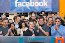 Facebook New Zealand paid $14,497 tax in the last financial year, with an overall profit loss of $81,193. Photo / AP
