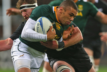 Bryan Habana in action against the All Blacks. Photo / Getty Images