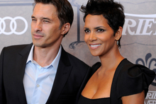 Halle Berry and her fiance Olivier Martinez. Photo/AP
