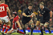 Richie McCaw had another excellent test for the All Blacks. Photo / Getty Images