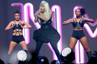 Nicki Minaj performing at Vector Arena. Photo/Neville Marriner