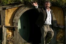 Peter Jackson ahead of The Hobbit premiere. Photo/Mark Mitchell