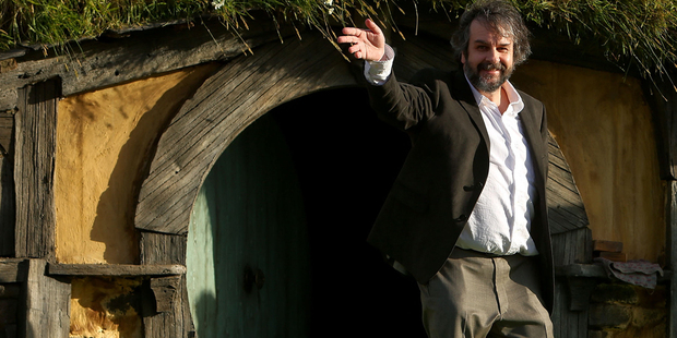 Loading Peter Jackson ahead of The Hobbit premiere. Photo/Mark Mitchell