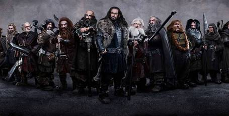 The 13 dwarf stars of The Hobbit. Photo/supplied
