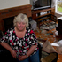 Debbie Booty in her home after a tornado hit the area of Hobsonville in West Auckland this morning.  Photo / Sarah Ivey
