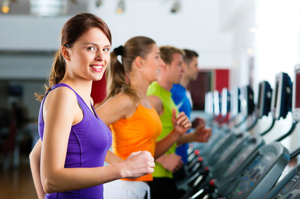 Excercise in a gym in Hull powers the gym's lights. Photo / Thinkstock