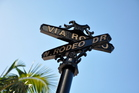 LA's Rodeo Drive is one of the most posh strips of boutique shopping in the world. Photo / Thinkstock