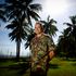 CSM John Spence at base near Honiara, Solomon Islands.  Photo / Dean Purcell