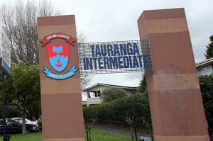 Tauranga Intermediate School. Photo / Mark McKeown