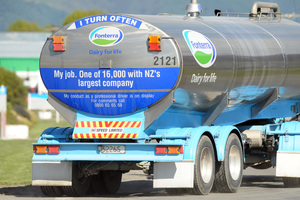 One person is dead after a milk tanker crash near Dargaville. Photo / File photo