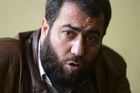 Abu Aslam, head of the Committee for Promotion of Virtues, which aims to fight abuses and crimes committed by members of the Free Syrian Army. Photo / AFP