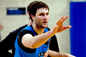 Alex Pledger says the Breakers are fully prepared to take on the Kings - Madgen or no Madgen. Photo / Dean Purcell