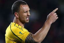 Quade Cooper and the Australian Rugby Union (ARU) have finally resolved their differences and the maverick playmaker is set to sign a new multi-year deal. Photo / Getty Images. 