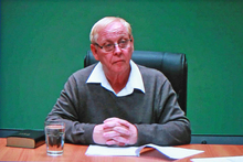 Last month, it was revealed that Mr Shirtcliff, 67, had his engineering degree revoked after an investigation by the University of New South Wales. Photo / Dean Kozanic