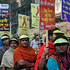 Indian activists walk in a rally to mark World AIDS Day in Kolkata, India. Photo / AP