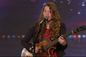 Fifteen-year-old Clara Van Wel was the best of 5000 who auditioned for New Zealand's Got Talent 2012. Photo / Supplied
