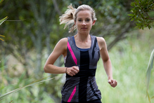 Jo Carrel says exercise, such as running, has many benefits and lifts spirits. Photo / Greg Bowker