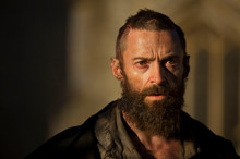 Hugh Jackman, as Jean Valjean in <i>Les Miserables</i>, is a long way from Wolverine. Photo / Supplied