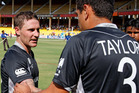Brendon McCullum (left) and Ross Taylor are at the centre of a mounting chorus of innuendo and rumour. Photo / Getty Images