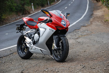 MV Agusta F3 If you manage to find a bit of open road you'll be in two-wheeled Nirvana. Photo / Jacqui Madelin