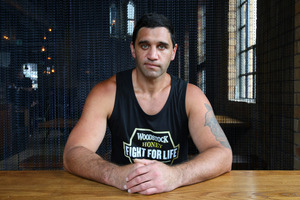 Richard Tutaki is to fight Joseph Parker on the December 15 Fight for Life card. Photo / Chris Gorman