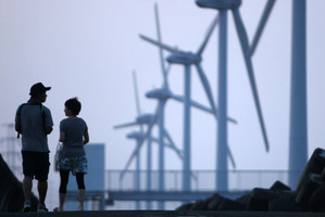 Less than 1 per cent of Japan's electricity comes from the wind. Photo / Bloomberg