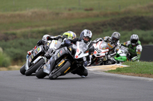 Andrew Stroud starts his road racing campaign at Hampton Downs today. Photo / Terry Stevenson