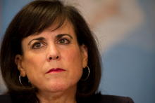 Barbara Weisel hardly personifies the image of a bullying superpower, as critics would have it. Photo / Greg Bowker