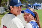 Softballers Nathan Nukunuku and Katrina Stockford will tie the knot on December 12, 2012. Photo / Neville Marriner