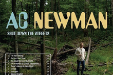 Album cover for AC Newman - Shut Down The Streets. Photo / Supplied 