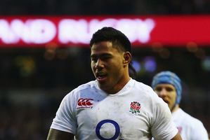 Manu Tuilagi of England. Photo / Getty Images