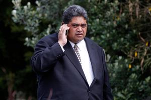 King Tuheitia's secretary, Rangi Whakaruru, lost his firearms licence after a domestic incident. Photo / Christine Cornege
