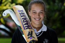 Natasha van Tilburg scored three centuries in three weeks last cricket season. Photo / Sarah Ivey