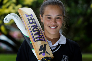 Natasha van Tilburg scored three centuries in three weeks last cricket season. Photo / Sarah Ivey