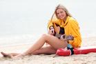Surf Lifesaving ambassador Jamie McDell. Photo / Doug Sherring