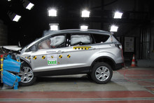 All-new Ford Kuga outperfomed all mid-sized SUVs in Euro NCAP's crash tests. Photo / Supplied