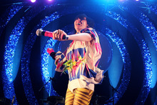 Karen O with Yeah Yeah Yeahs will be performing at the Big Day Out in cities across Australia. Photo / AP