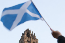 An independent Scotland would be seen as a new state and would have to apply to join the European Union. Photo / AP