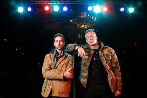 Macklemore (right) and Ryan Lewis deliver a refreshing take on hip-hop. Photo / Supplied