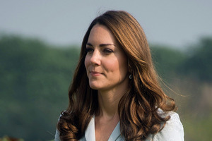Kate, the Duchess of Cambridge, is pregnant. Photo / AP