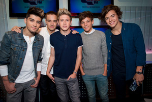 British pop group One Direction have perfume plans.Photo / File