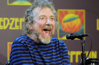 Led Zeppelin frontman Robert Plant will play solo shows here. Photo / AP