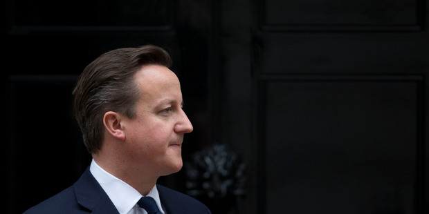 Britain's Prime Minister David Cameron. Photo / AP