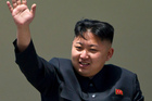 The rocket launch is the latest example of the country's leader, Kim Jong Un, striking a newly aggressive pose to coincide with the anniversary of his father's death. Photo / AP