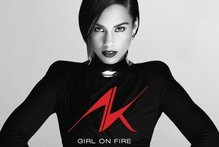 Album cover for Girl On Fire by Alicia Keys. Photo / Supplied