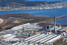 The Tiwai Pt aluminium smelter uses about one-seventh of NZ's electricity. Photo / Supplied 