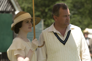 A scene from the season 3 finale of Downton Abbey. Photo / Supplied