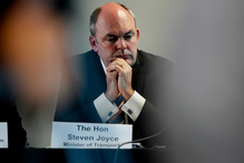 Cabinet minister Steven Joyce engaged in a Twitter battle over taxpayer funds for corporate R&D. Photo / Christine Cornege