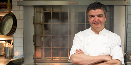 Sean Connolly is the chef at The Grill restaurant owned by SkyCity, which is understood to have paid about $400,000 towards prime time food show On The Grill. Photo / Richard Robinson